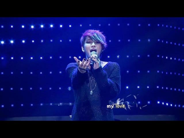 Kim Jaejoong 김재중 - All Alone (2013 Mini Concert) [eng rom hangul karaoke sub]