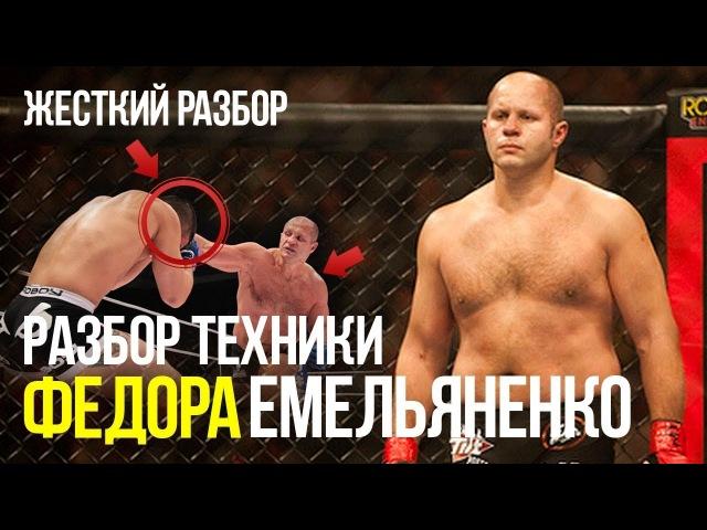 Хитрости и техники Федора Емельяненко Жесткий разбор