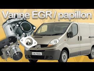 Renault Trafic 2.0 dCi - Vanne EGR et papillon