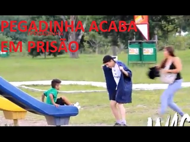 FERRROU PEGADINHA acaba em PRISÃO Pedófilo solto no Parque