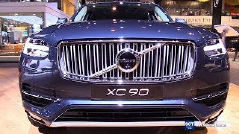 2018 Volvo XC90 Momentum - Exterior and Interior Walkaround - 2018 Chicago Auto Show
