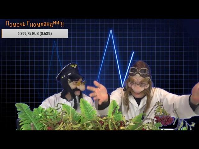 СМЕХ ПОМАДА ХАРАКТЕР Прямая трансляция GNOMLANDIA TV