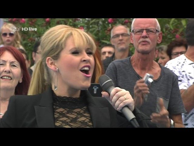Maite Kelly - Sieben Leben für Dich - ZDF Fernsehgarten 16.07.2017