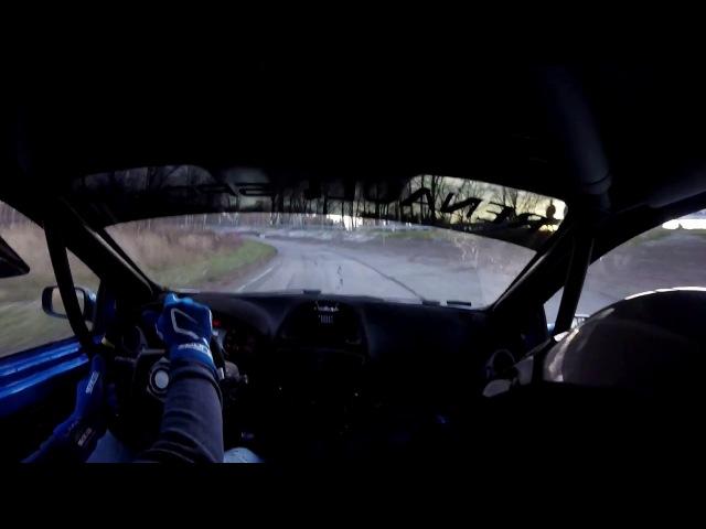 Экипаж Wajman/Bozik (Польша) на Renault Clio RS и шинах EXTREME VR2 TYPE-R5