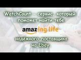 WatchCount - сервис, который поможет найти тебе надёжного поставщика на Ebay.  Amazing Life.