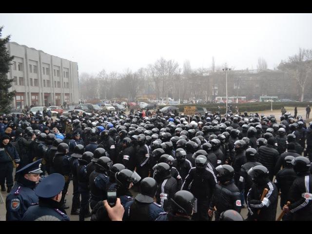 19 февраля 2014. Одесса. В Одессе титушки избили Евромайдан: пострадали журналисты и активисты