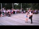 Cam2: Dmitry Vostrikov Yana Okhotenko at Open Air Lindy Hop Contest