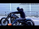 Harley-Davidson Custom FXSB Breakout Slow Shooting