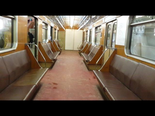Поездка в вагоне 81-717.5 №10168 по ЗЛ