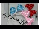 Laço Amanda 💖 Fita sanding 💖 DY 💖 By Patricia Yida