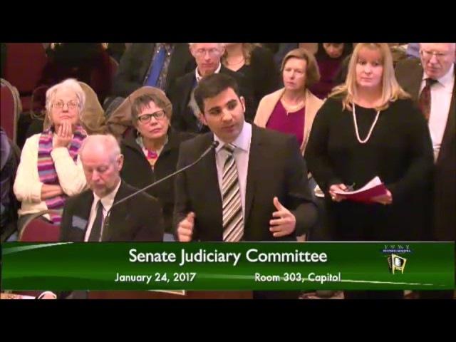 Former muslim testifies at the Senate against sharia law