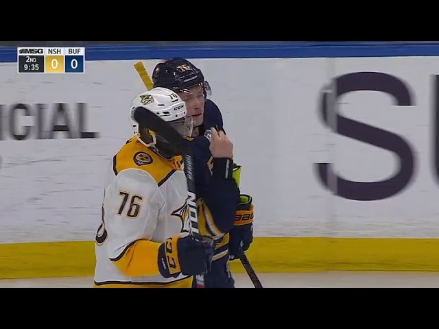 Nashville Predators vs Buffalo Sabres - March 19, 2018 | Game Highlights | NHL 201718