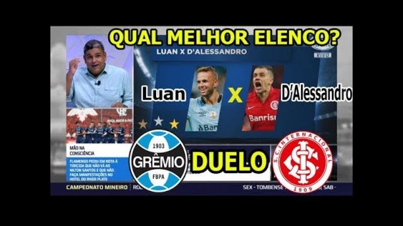 Duelo fox sports: Grêmio x Internacional - Qual é o melhor?