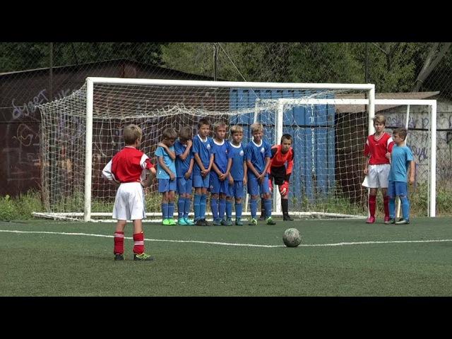XVI тур первенства Самары 2017 по футболу (U-10) «Виктория-2» — «Метеор» 8:0