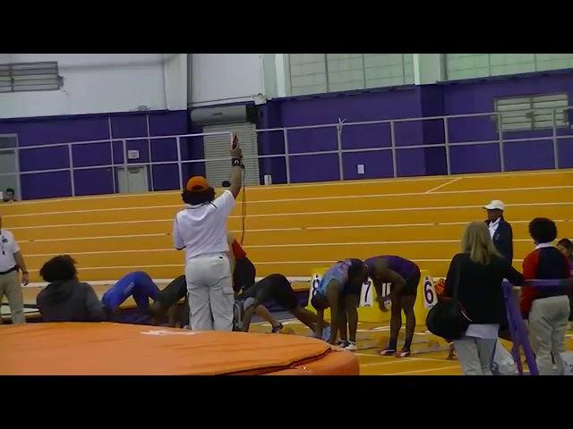 Christian Coleman 60 Indoor Record 6.37 (2018)