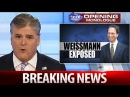 BREAKING NEWS TRUMP 1/16/18: Hannity - Time for Weissmann to be Fired