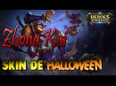 Zhong Kui Nova Skin de Hallowenn | SPOTLIGHT | - Heroes Evolved Mobile