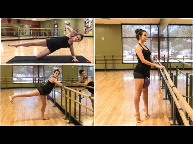 Total Body Barre Workout 2 - firm and tone