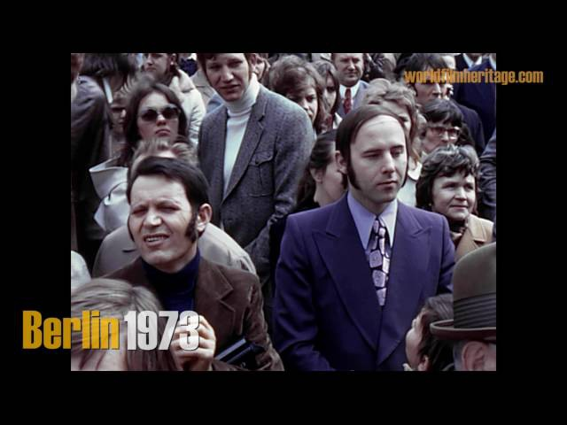 Berlin 1973 - Die geteilte Stadt - The divided city during the 70s
