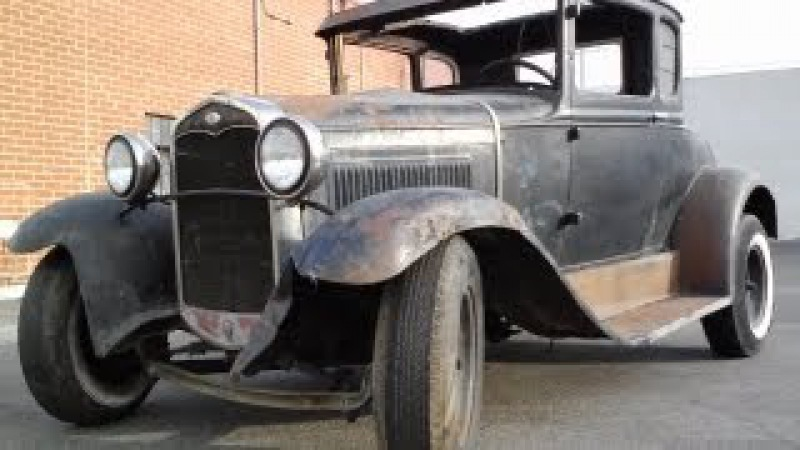 Oil change (shocking) after sitting for 50 years Ford Model A