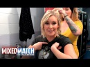 See how Renee Young and Beth Phoenix prepare for tonight's WWE Mixed Match Challenge