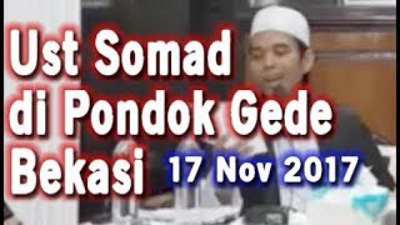 Ribuan Orang Hadiri Ceramah Ustadz Abdul Somad di Pondok Gede, Bekasi Pada Jumat Malam 17 November