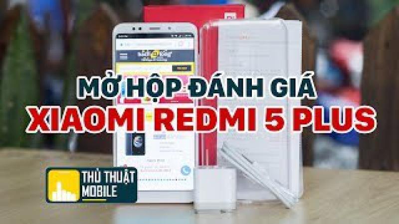 Mở hộp Xiaomi Redmi 5 Plus Màu Hồng - Bom tấn chưa tới 4 triệu