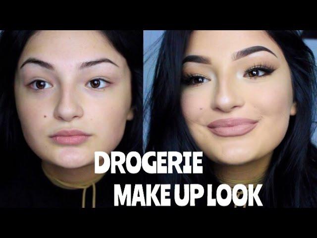 DROGERIE Makeup Look für den Alltag/Abend - 4€ MAC DUPE PALETTE!