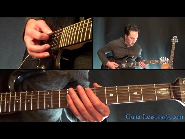 Master of Puppets Guitar Lesson Pt.2 - Metallica - Rhythms