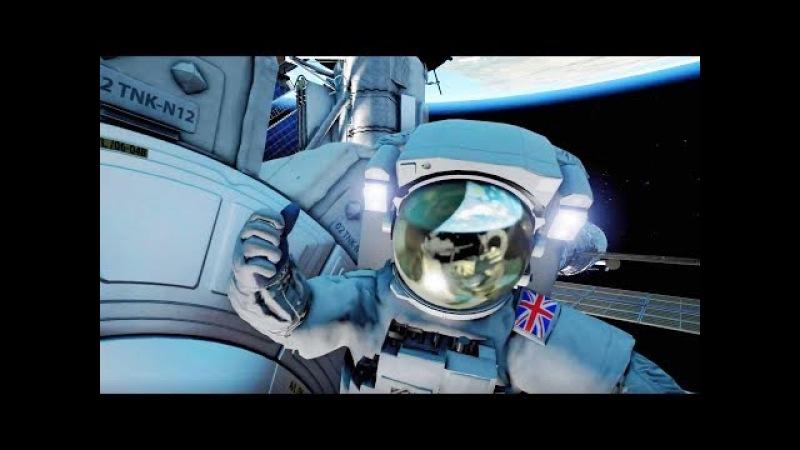 HOME - A VR Spacewalk Trailer【HTC Vive, Oculus Rift】BBC