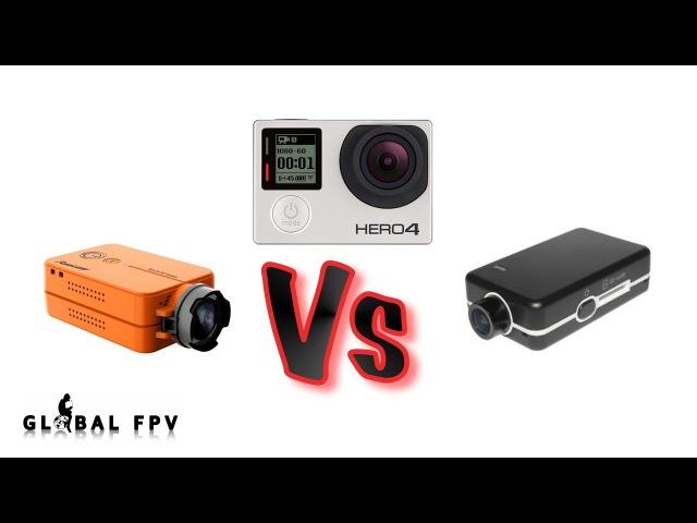 COMPARATIVA Gopro Hero 4 vs Runcam 2 vs Mobius mini