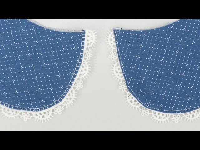 How to Sew Trim to a Collar