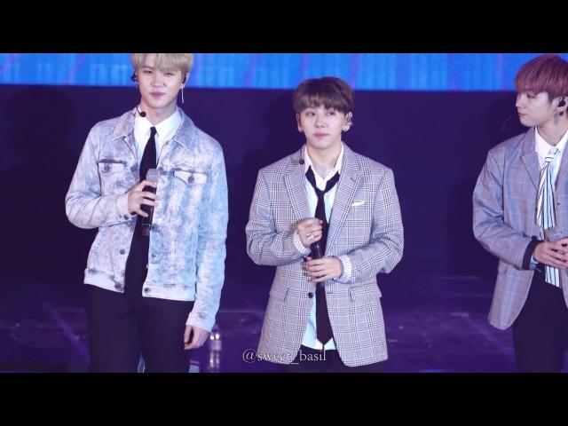 [4k fancam] 180222 JBJ 멘트 1 2 노태현 직캠 @ 이투스 콘서트 JBJ RohTaeHyun Focus Fancam