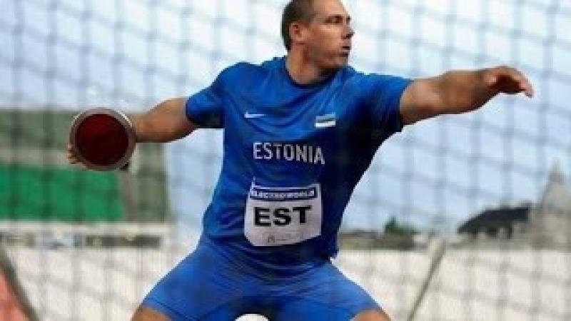 Gerd Kanter The Best Discus thrower