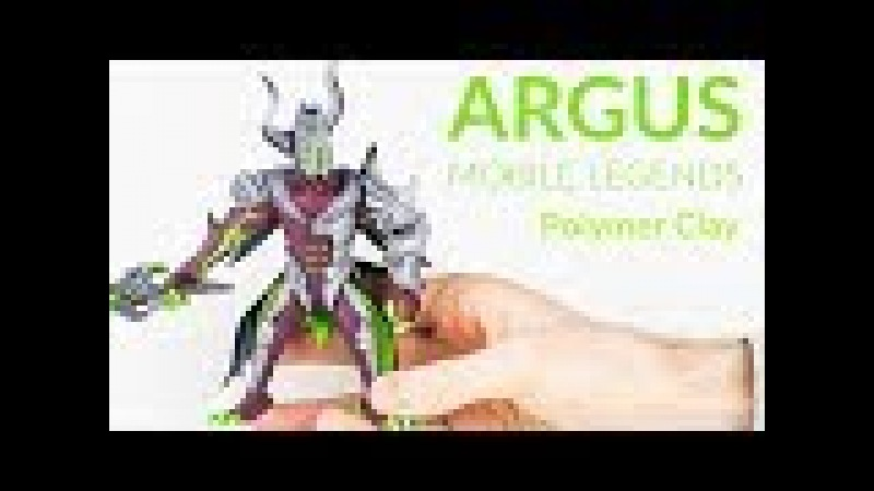 Argus Nightstalker (Mobile Legends) – (Part 1) Polymer Clay Tutorial