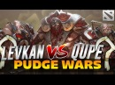 QUPE vs LEVKAN [PUDGE WARS] Dota 2