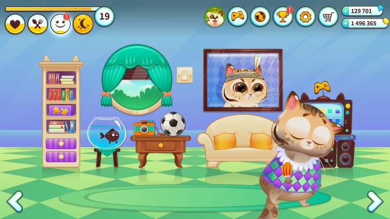 Bubby.Мультик игра Для малышей.Котенок Бубу.Мультфильм игра для детей.Для самых маленьких.