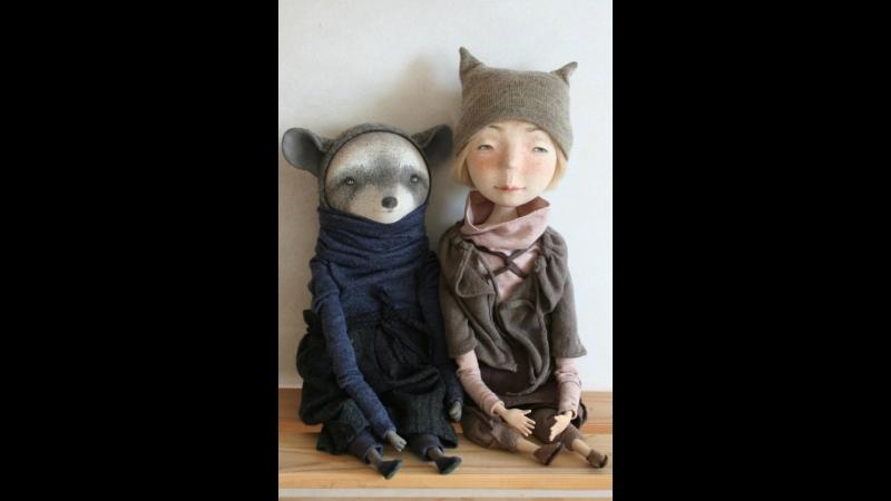 Авторские куклы и зверики Глебовой Марины