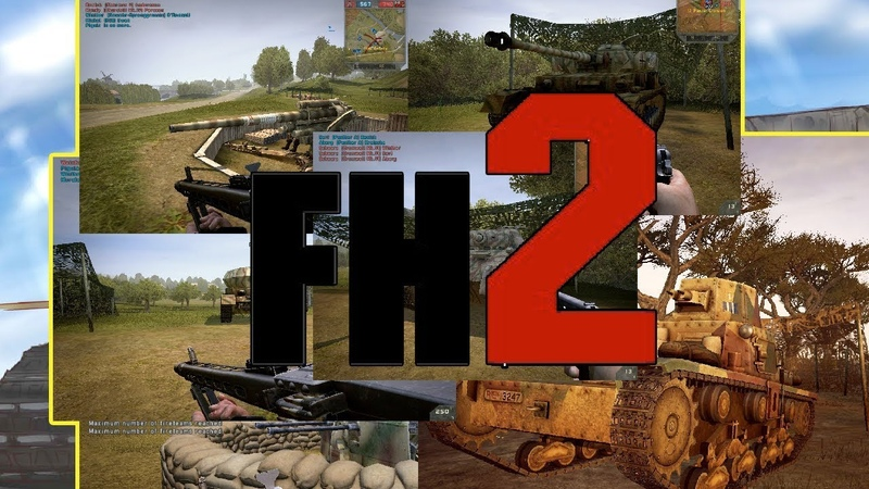 Battlefield 2-Forgotten Hope 2(2.52) установка и игра по сети(инструкция)-BF2 жив
