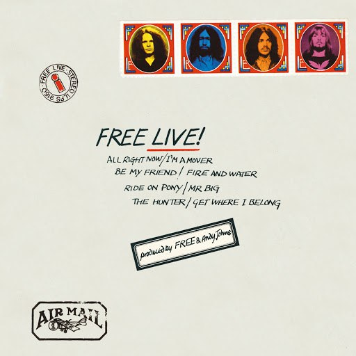 Free альбом Free Live!