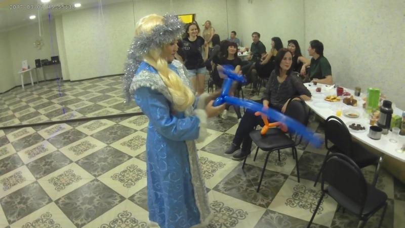 Ковбойский конкурс на новогодней вечеринке ХИТ