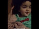 Маленькая красавица 😄😍 (`— Что им сказать? что им сказать? чтооо иммм сказааать? — Что хочешь — Ка дай поспать`)