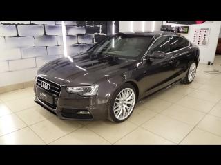 Коррекция ЛКП Audi  A5 + нанесение покрытия Gyeon Can Coat