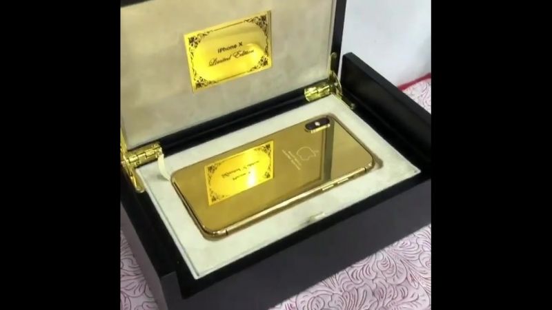 Iphone X Gold 🥀