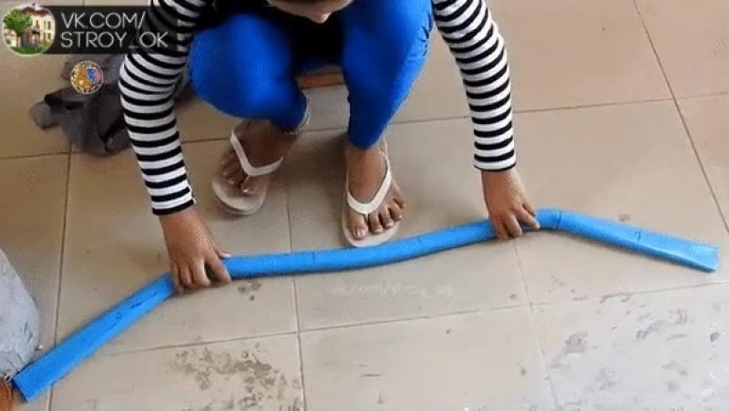 Самодельный лук из пластиковых труб