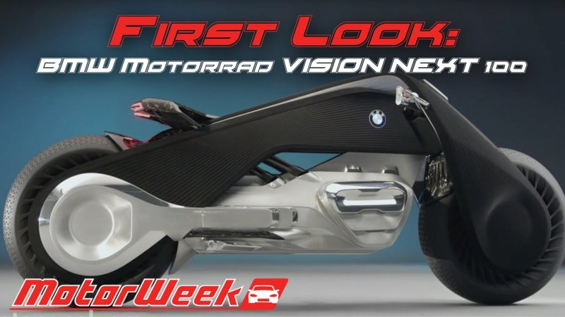 First Look- BMW Motorrad VISION NEXT 100- A Motorcycle From the Future