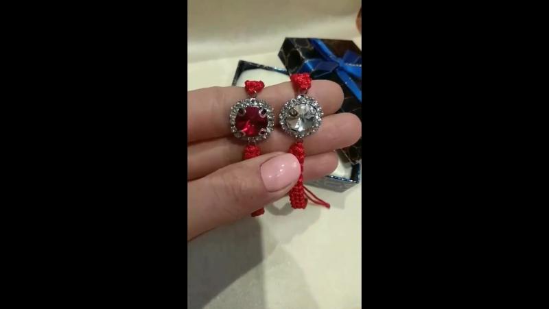 браслеты на красной нитке