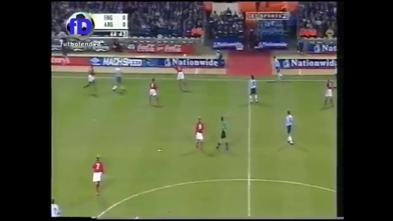 England argentina 2000