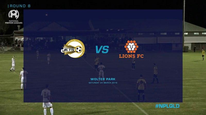 Round 8 NPL Moreton bay United vs Lions FC HIGHLIGHTS