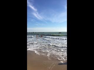 Заплыв моржей Евпатория Рождество 2018